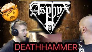 ASPHYX - DEATHHAMMER 😳🤯🔥🤘 reaction