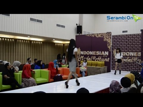Indonesian Model Hunt 2016 di Banda Aceh