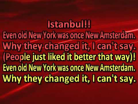 Istanbul Not Constantinople   Jimmy Kennedy & Nat Simon