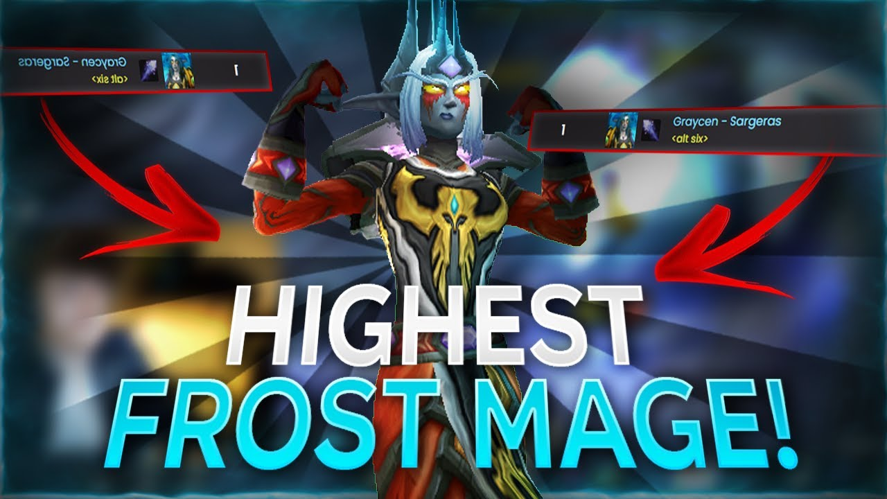 Frost Mage Godcomp 3s! | Frost Mage WoW Shadowlands Arena | C9 Graycen
