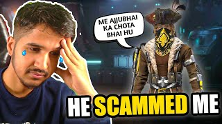 Ajjubhai's Brother Scammed Me || Free Fire PRANK || Desi Gamers