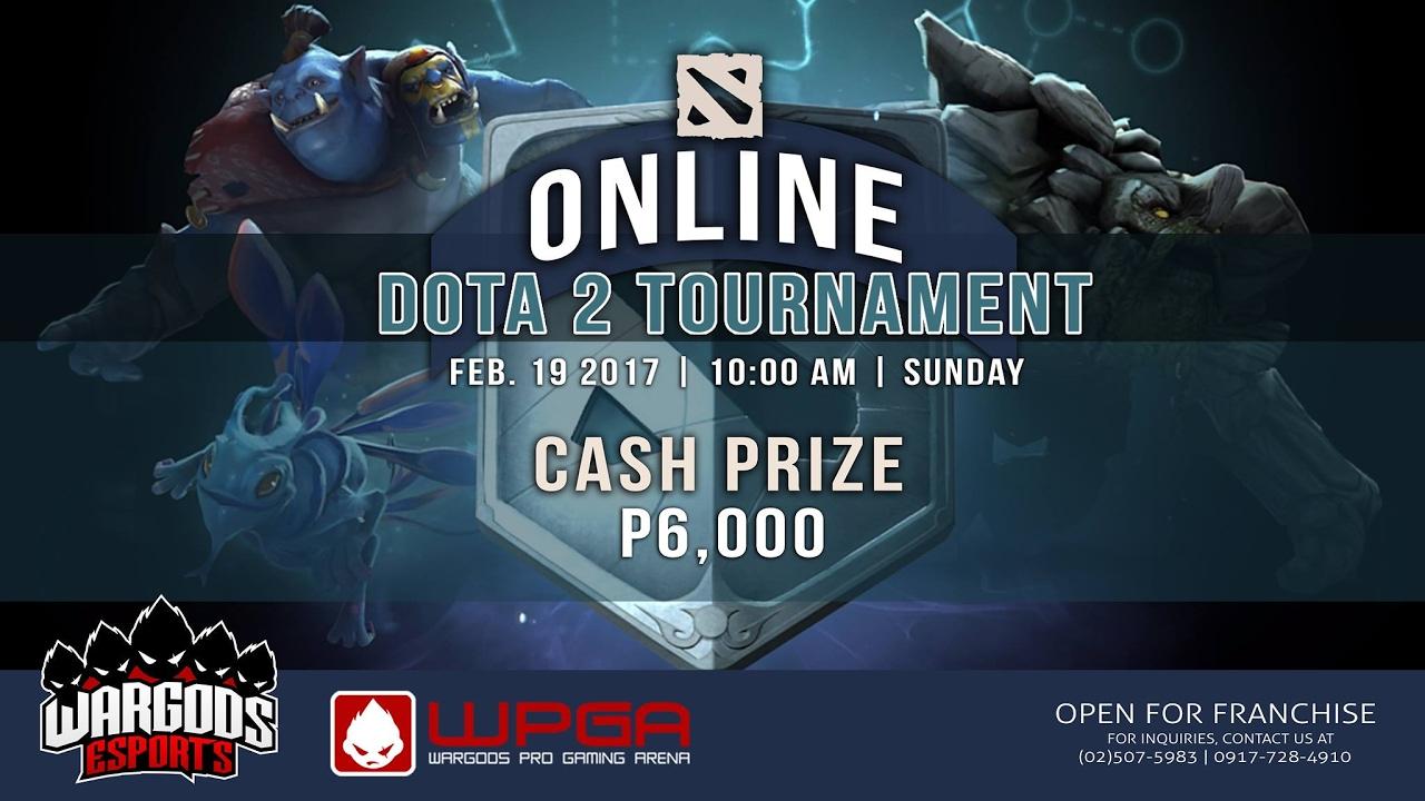 Wargods Dota 2 Online Tournament (Playoff Stage) - Feb 2017
