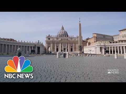 Coronavirus Pandemic Changes How The World Worships | NBC Nightly News