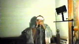 الشيخ سعيد عبدالصمد الزناتي . سورة إبراهيم . فيديو نادر