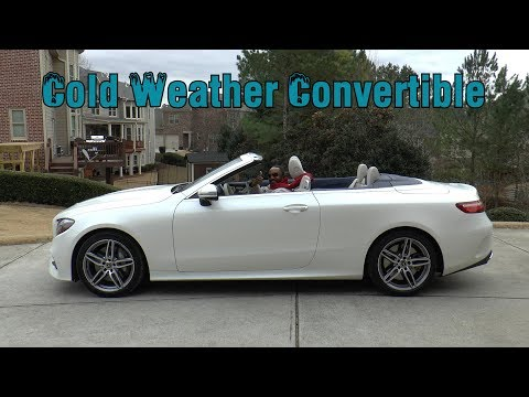 2018 Mercedes-Benz E 400 4MATIC Cabriolet Review - COLD Weather Convertible