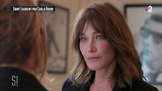 L'interview de Carla Bruni - Stupéfiant !
