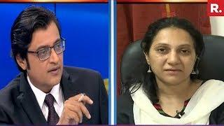 Arnab Goswami Speaks To Col Purohit's Wife - Aparna Purohit   Exclusive