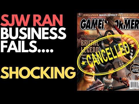 SJW Ran Game Informer Magazine Ends SHOCKING! :)
