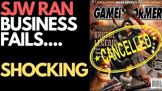 SJW Ran Game Informer Magazine Ends SHOCKING! :)