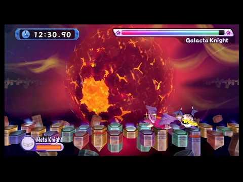Battle of Fate: Meta Knight Vs Galacta Knight (Kirby's Return to Dream Land )