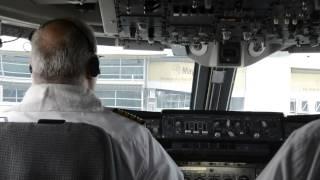 IranAir Boeing747SP-86 Landing at Kuala Lumpur International Airport(KUL) in the cockpit