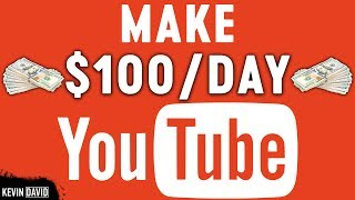 Make 100 Per Day On Youtube Without Making Any Videos Make Money Online