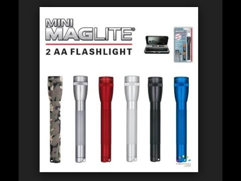 Mini Maglite Flashlight Review!