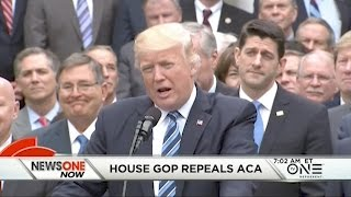 House Republicans Pass Bill To Repeal And Replace ACA Republicans in the House of Representatives pass