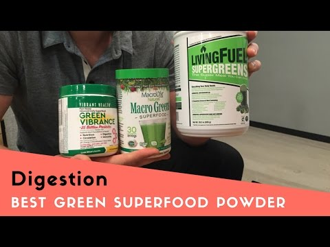 Best Green Superfood Powder for Digestive Health
