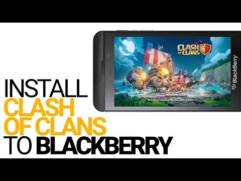 Install Clash of Clans to BlackBerry