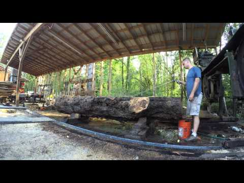 Milling a 12,000 LB Silver Maple Log