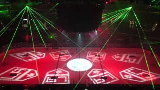LA Kings - Christmas Pyro and Laser show Dec 23 2015
