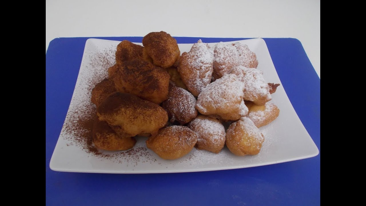 FRITTELLE DI MELE sofficissime dolci di Carnevale - Le ricette di zia Franca