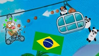 3 ПАНДЫ  Бразилия - ИГРА как мультик - Для Детей