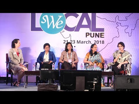How Does She Do It Panel at WE Local India in Pune