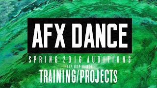 afx dance   spring 2016 training projects audition trailer