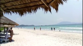 Пляж Doc Let, Нячанг, Вьетнам Май 2017