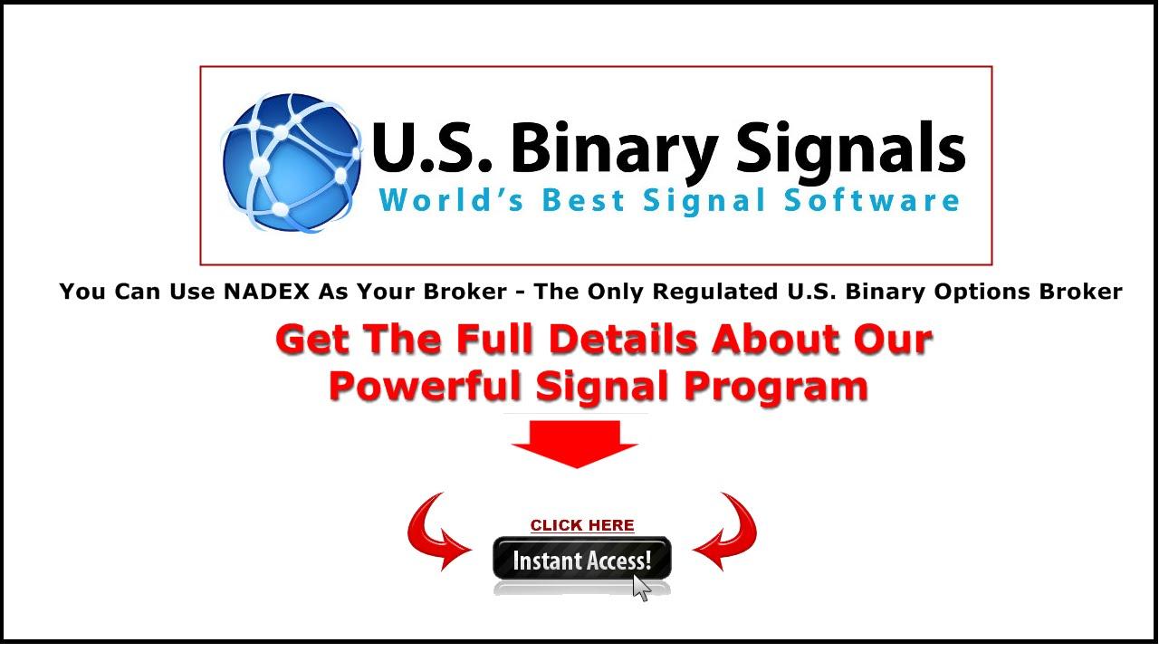 Nadex binary option trading signals