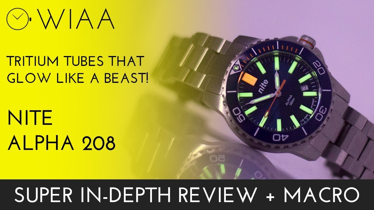 92342176c5ab Tritium tubes that GLOW! Nite Alpha 208 Review + Unboxing - YouTube