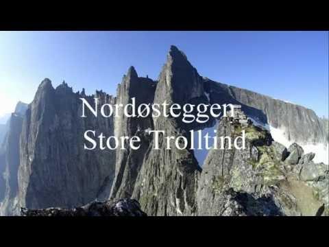 Nordøsteggen Store Trolltind