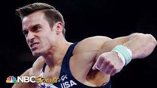 Sam Mikulak's fall leaves him 7th in world championship all-around | NBC Sports