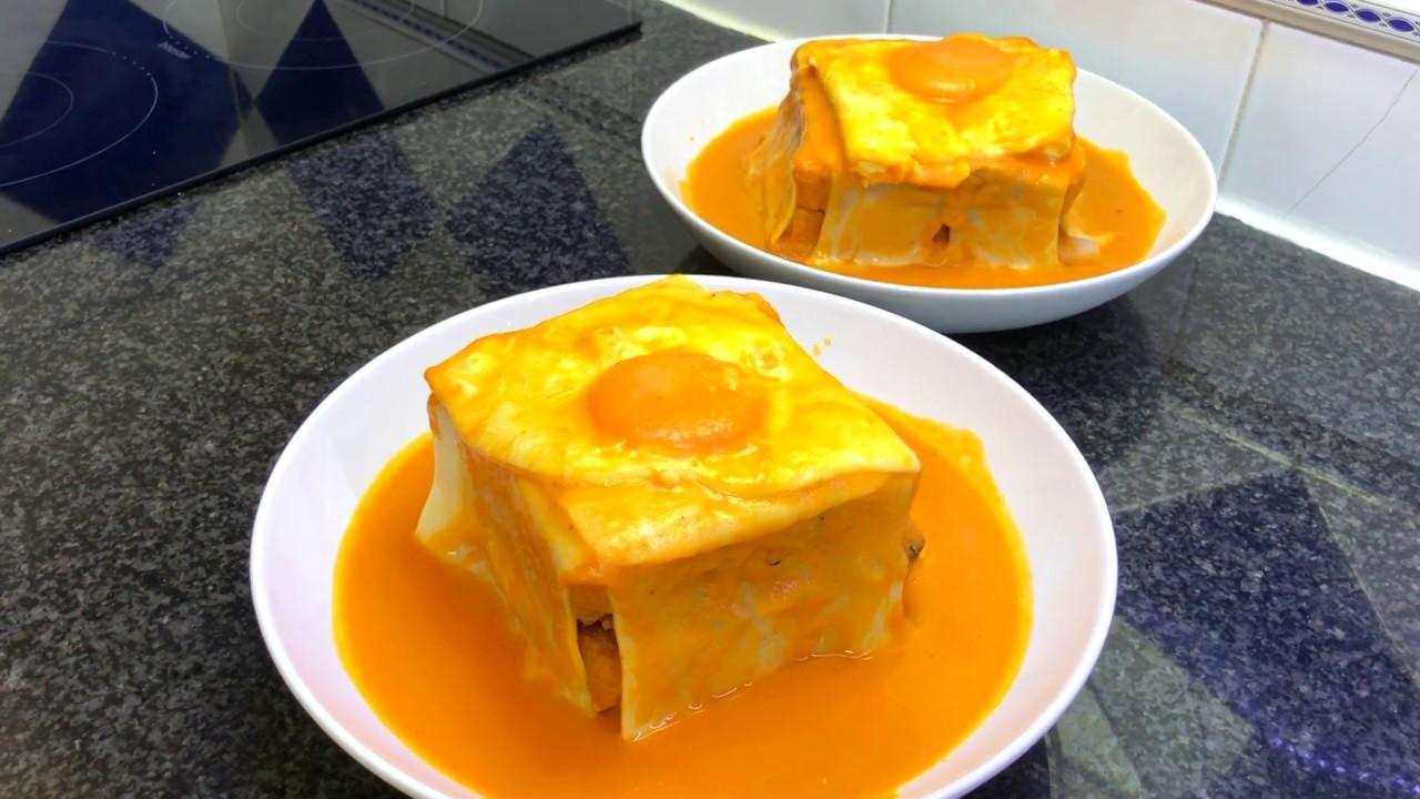Бомбезное португальское блюдо Франсезинья / Francesinha