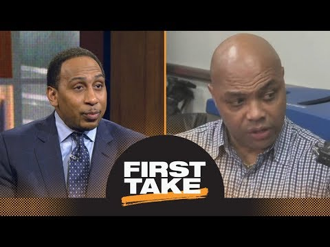 Stephen A. challenges Charles Barkley's comments about FBI investigating NCAA | First Take | ESPN