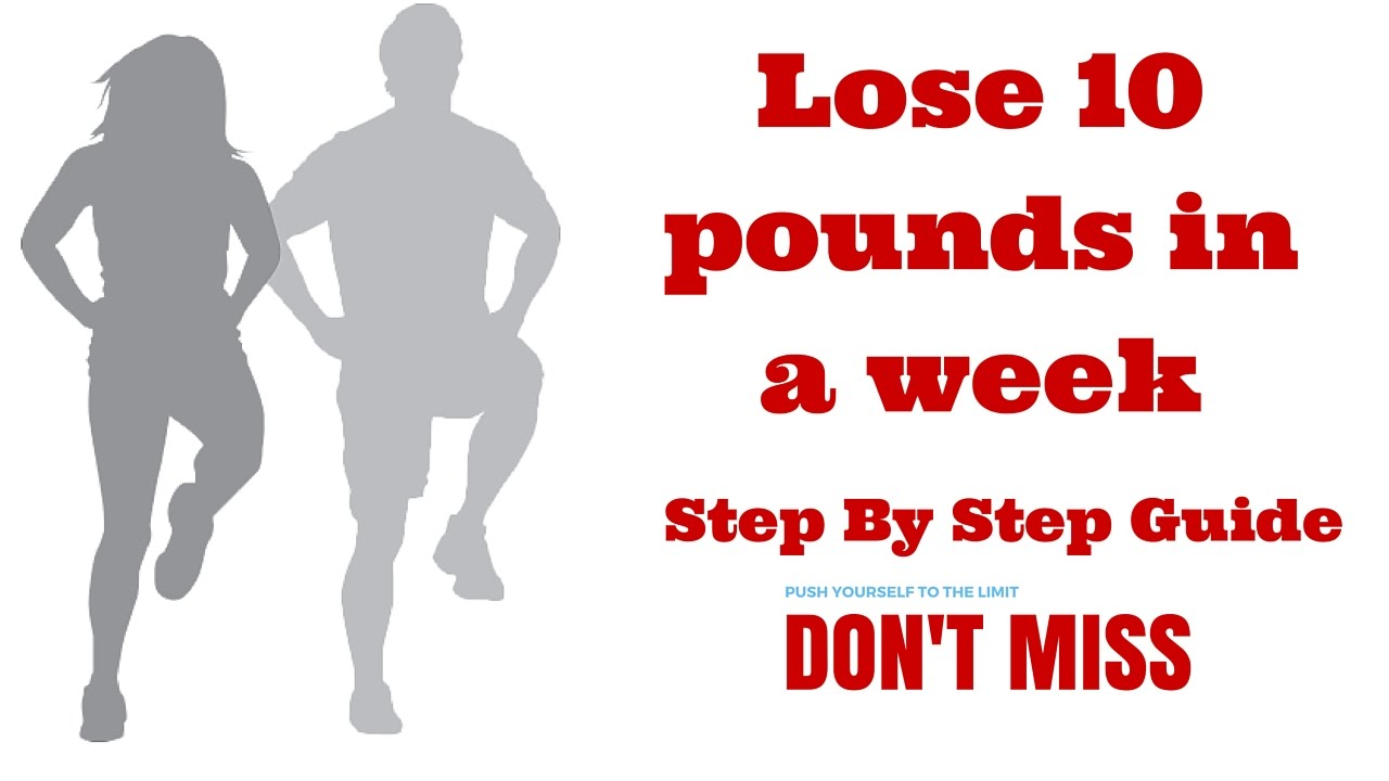 How To Lose 10 Pounds Weight In A Week  Lose Weight Fast At Home