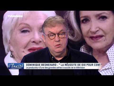 """Dominique BESNEHARD : """"Je rêve de Catherine Deneuve dans Dix pour cent"""""""