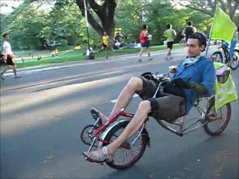 Diy 20 Fwd Mbb Recumbent Bike Youtube