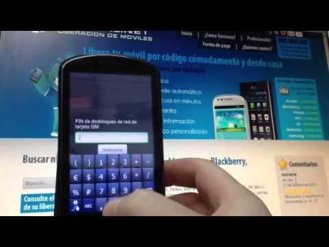 Liberar Huawei U8800 Ideos por código, Movical.Net