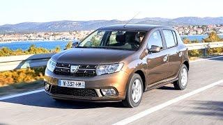 New Dacia Sandero - driving footage 2016