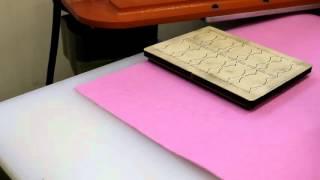 видео Типы подрезки и подгиба этикеток