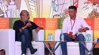 India's Democracy XI   Rahul Dravid, Rajdeep Sardesai with Prem Panicker