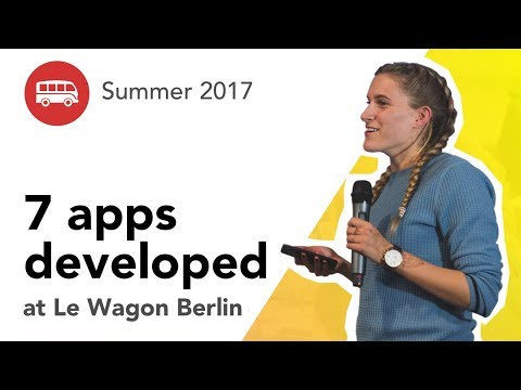 7 apps developed at Le Wagon Berlin - Batch #92