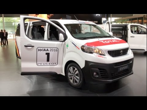 peugeot expert 2016 in detail review walkaround interior exterior youtube. Black Bedroom Furniture Sets. Home Design Ideas