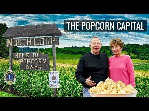 The Popcorn Capital of the U.S. 🍿 North Loup, NE