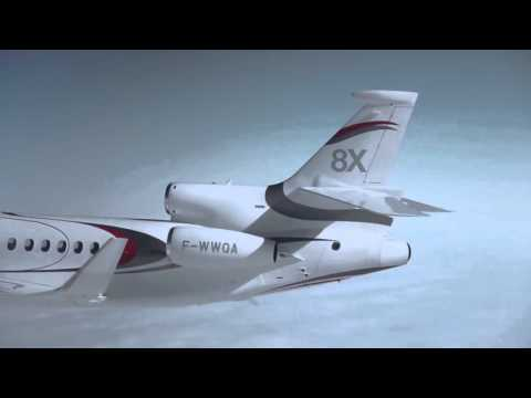Falcon 8x - Flight of the Falconjet.
