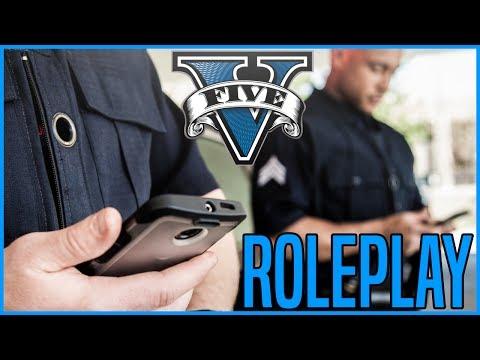 GTA V RP#2 - DEUXIÈME JOUR AU SEIN DE LA POLICE