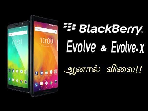 BlackBerry Evolve & Evolve X - Android Blackberry Phone | Tech In Tamil