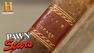 Pawn Stars: RARE OLD BOOK IS CRAZY EXPENSIVE (Season 11) | History