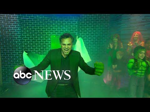 'Thor' actor Mark Ruffalo says Halloween is his kids' 'happiest holiday'