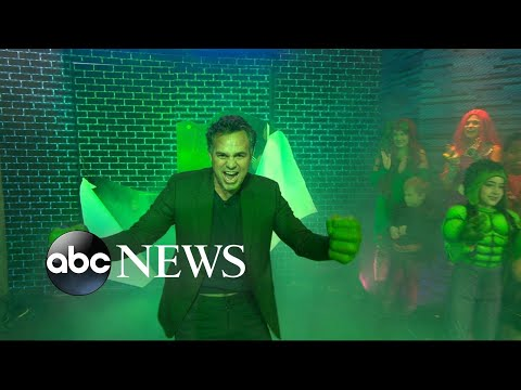 'Thor' actor Mark Ruffalo says Halloween is his kids' 'happiest holiday'
