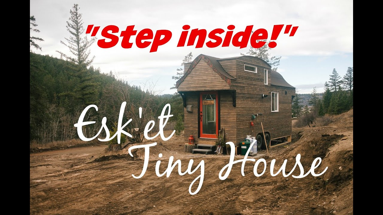 Esket Sqlelten Tiny House Tour Video 20 Esket Tiny House